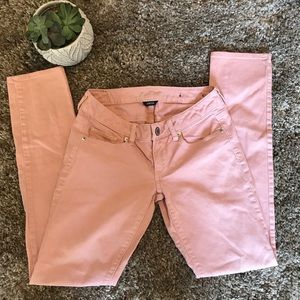 American Eagle Skinny Pink Stretch Jeans Size 2
